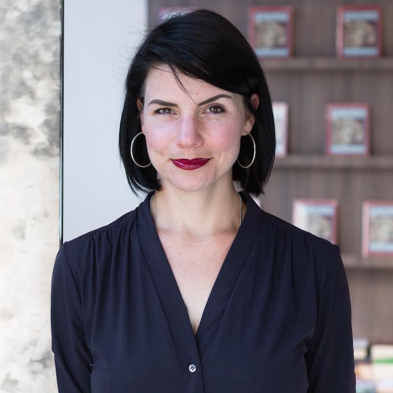 Vortrag Social Reading: Porträtfoto von Vortragsrednerin Karla Paul